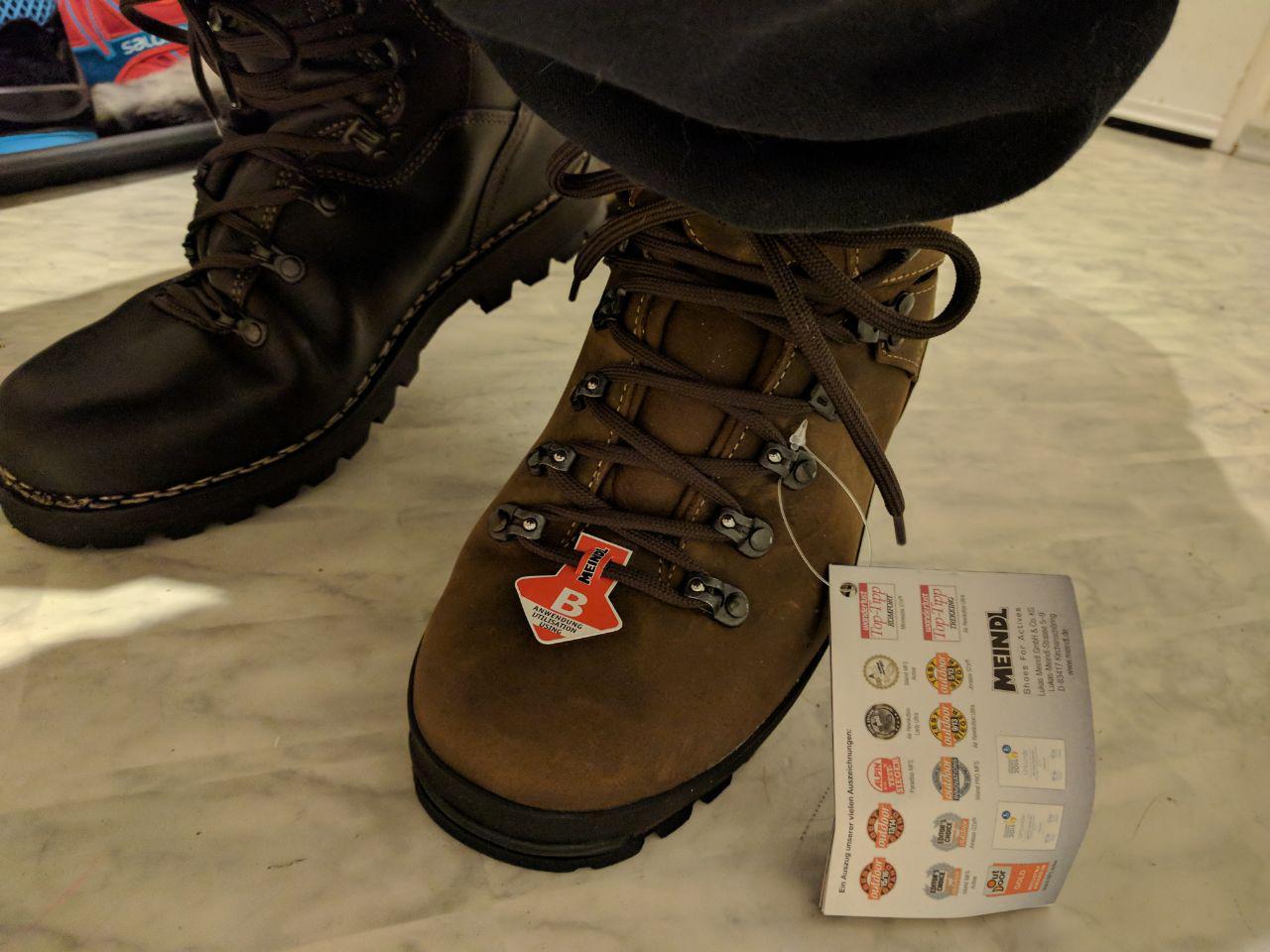 Schuhe leder knickfalte
